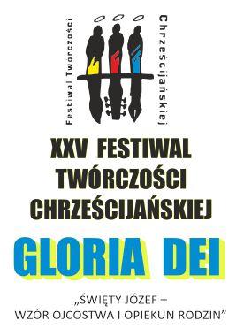 logo XXV festiwalu twórczości Chrześcijańskiej